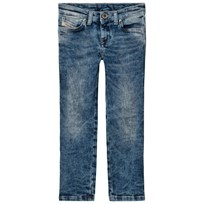 Diesel Acid Wash Skinzee Low Skinny Jeans K01