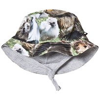 Molo Nomly Baby Hat Hairy Animals Hairy Animals