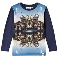 Molo Rexol T-Shirts Long Sleeve Kaleidoscope Bear Kaleidoscope Bear