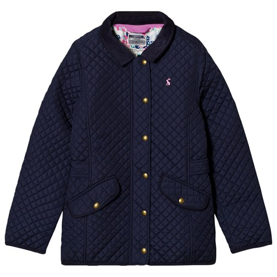 Tom Joule Navy Quilted Coat French Navy