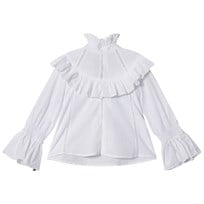 How To Kiss A Frog Mazi Blouse White White