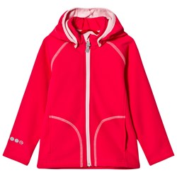 Reima Softshell Jacket Vantti Strawberry Red