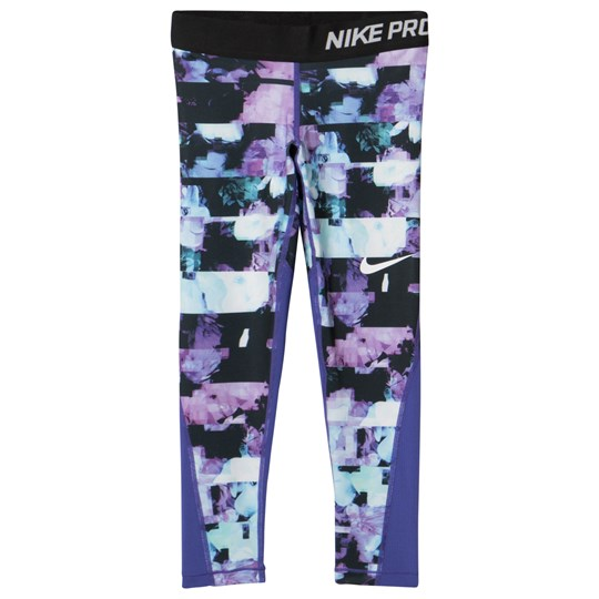 NIKE Printed Leggings Lila PERSIAN VIOLET/PURPLE COMET/BLACK/WHITE