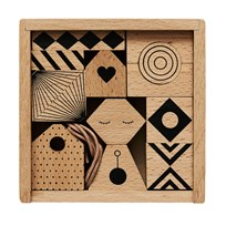 OYOY Puzzle Me - Wooden mobile NATURE