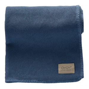 Image of OYOY Bobo Baby Blanket Blue (2874372669)