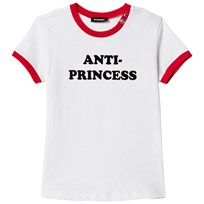 Diesel White Anti-Princess Print Tee K100