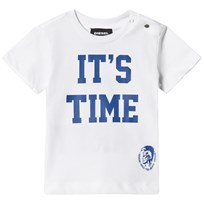 Diesel White Time 2 Party Print Tee K100