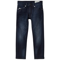 Diesel Dark Wash Indigo Teppar Slim Fit Jeans K01