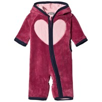 Me Too Mil Teddy Onesie Red Violet Purple