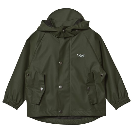 Sways Sail Rain Jacket Green Green