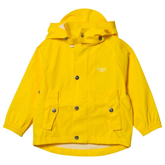 Sways Sail Rain Jacket Yellow Yellow