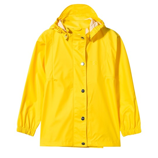 Sways Tulle Rain Jacket Yellow Yellow