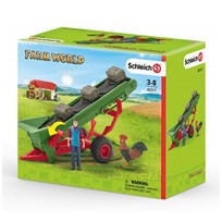 Schleich Hay Conveyor with Farmer Unisex