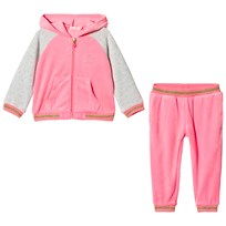 Billieblush Pink and Grey Velour Tracksuit 49H