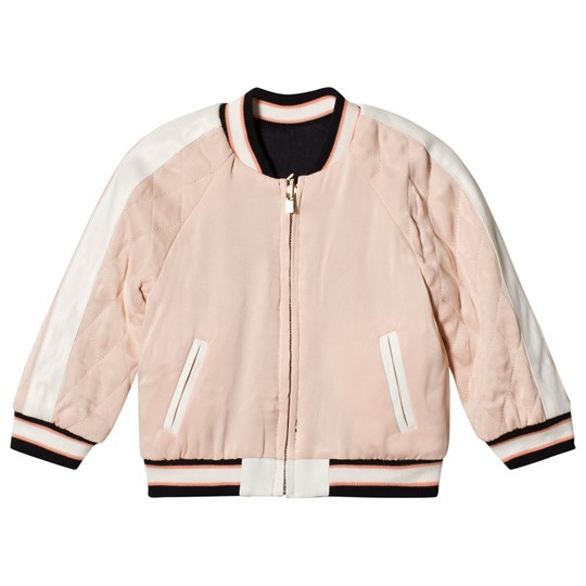 Chloé Light Pink Reversible Toucan Teddy Jacket V94