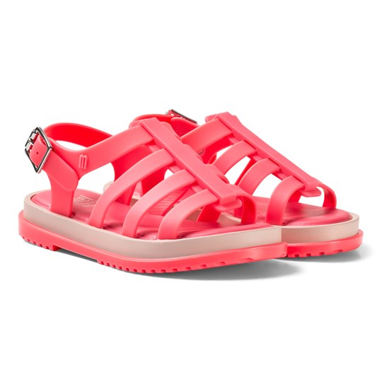Mini Melissa Coral Flox Sandals Babyshop Com