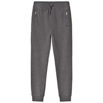 Burberry Grey Charcoal Melange Phill Sweatpants Charcoal Melange