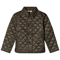 Burberry Olive Luke Quilted Jacket Olive