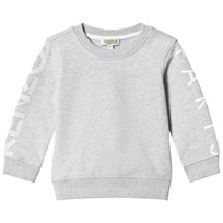 Kenzo Grey Melange Long Sleeve Logo Sweatshirt 22