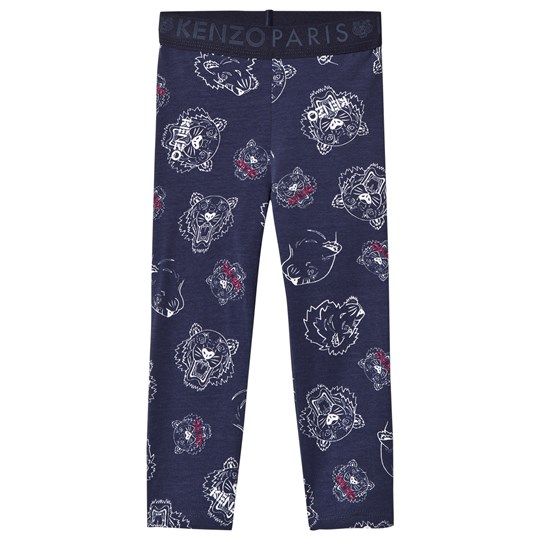 Kenzo Navy Multi Tiger Leggings 49