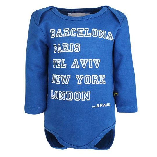 The BRAND Baby Body Blue Blue