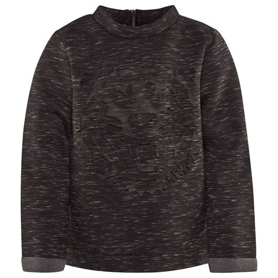 Little Pieces Vazia Sweatshirt Dark Grey Melange Dark Grey melange