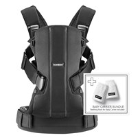 Babybjörn Переноска Baby Carrier WE Cotton incl. Teething Pad Black