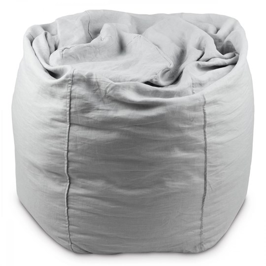 Fantastic Mood Bean Bag Light Grey Squirreltailoven Fun Painted Chair Ideas Images Squirreltailovenorg