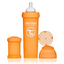 Twistshake Anti Kolik, Nappflaska, 330ml Orange