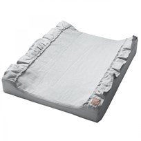 NG Baby Mood Ruffles Standard Changing Pad Light Grey Light Grey