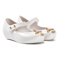 Mini Melissa White Vivienne Westwood Orb Ultragirl Shoes 52979