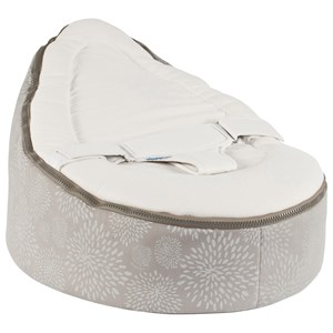 Image of Doomoo 2 in 1 Cocoon Seat Dandelion/Taupe (3065504359)
