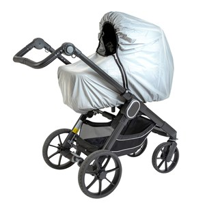 Image of Tullsa Reflective Carrycot Rain Cover (2839682909)