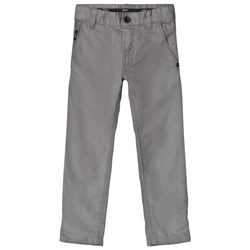 BOSS Grey Gabardine Chinos