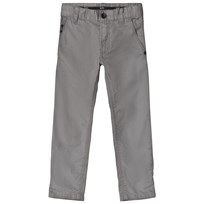 BOSS Grey Gabardine Chinos 37