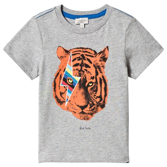 Paul Smith Junior Grey Tiger Print Tee 294