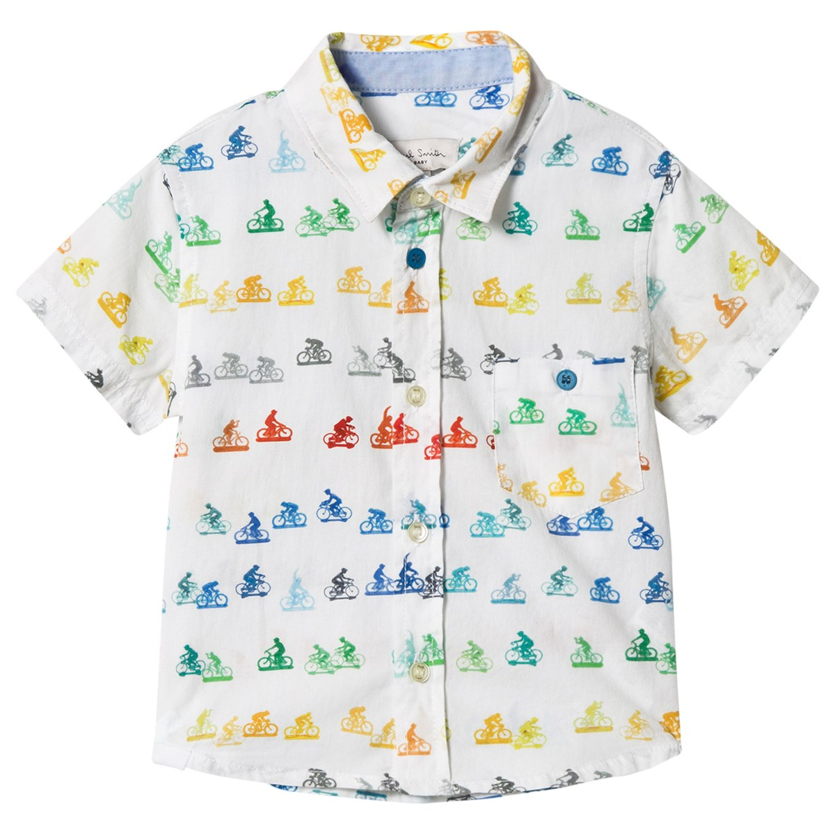 Paul smith junior boys bicycle shirt size 3 and 5 in great condition