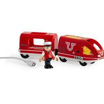 BRIO BRIO World - 33746 Uppladdningsbart tåg Red