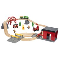 BRIO BRIO World - 33817 Tågset med räddningstema Multi