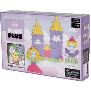 Image of Plus Plus Plus Plus MINI Pastel Castle 360 pcs 5 - 12 years (3037562525)