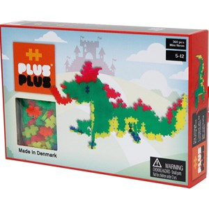 Image of Plus Plus Plus Plus MINI Neon Dragons 360 pcs 5 - 12 years (3037985783)