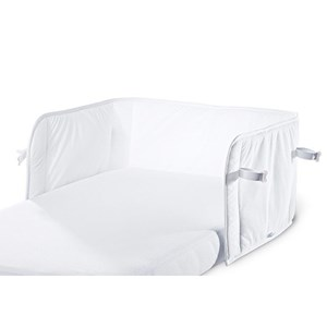Image of AeroSleep Breathable Bed Bumper White/White (2886061711)
