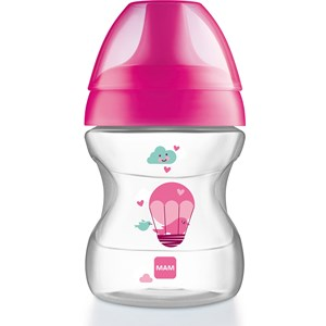 Image of MAM Learn to Drink Cup Pink 190 ml (3125327167)