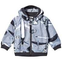 Molo High Soft Shell Jacket Planes and Birds Planes and Birds