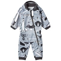 Molo Hill Soft Shell Onesie Planes and Birds Planes and Birds