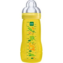 MAM Nappflaska, Baby Bottle, 330 ml, Gul Yellow