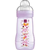 MAM Nappflaska, Baby Bottle, 270 ml, Lila Purple