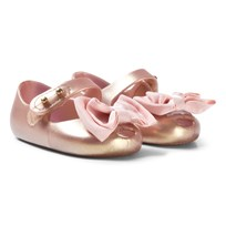 Mini Melissa Pink Bow Detail Soft Shoes 19763