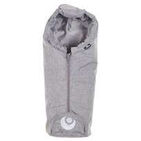 Easygrow Doll Sleeping Bag Grey Melange Musta