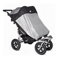 TFK Double Seat Sun Shade Twin Adventure/Trail Silver